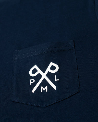 PML t-pocket blue