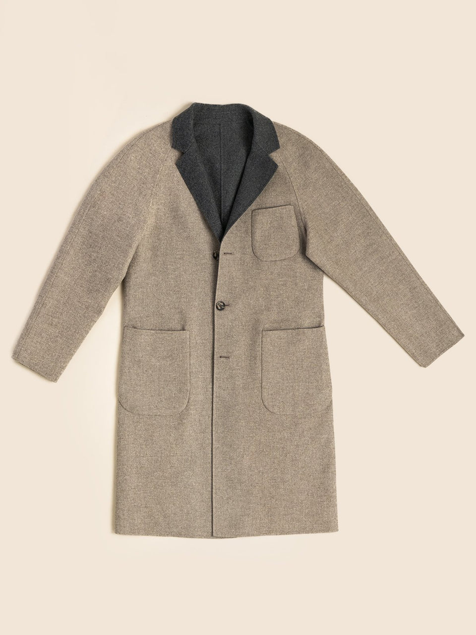 PML The Weekend reversible overcoat-single breasted *NOW AVAILABLE*