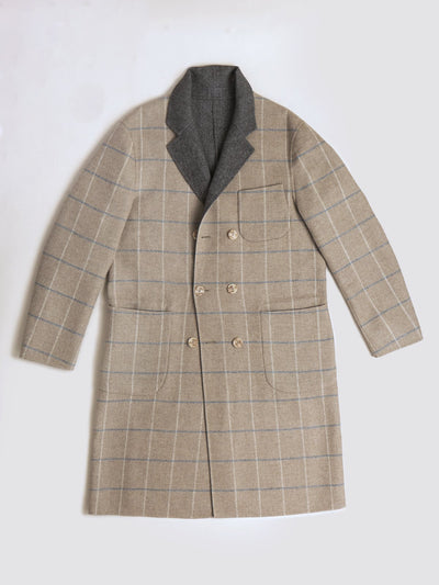 PML The Weekend reversible overcoat-double breasted *NOW AVAILABLE*