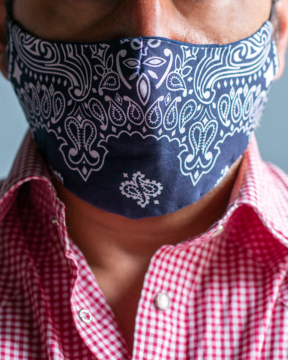 PML Bandidos mask Blue