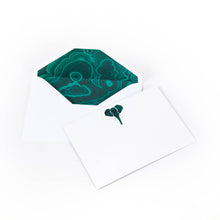 "Load image into Gallery viewer, Malachite Notecards ""Out of Africa"""