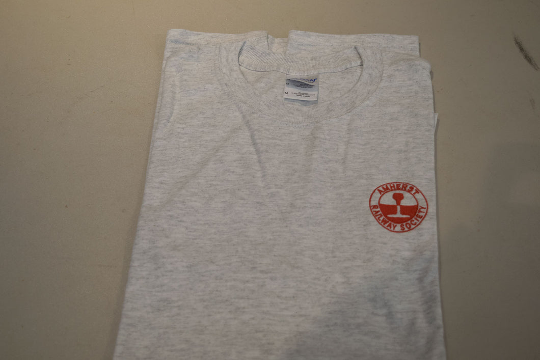 Amherst Railway Society Grey Cotton T-Shirt