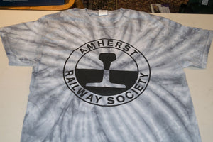Amherst Railway Society Adult Tie-Dye T-Shirt