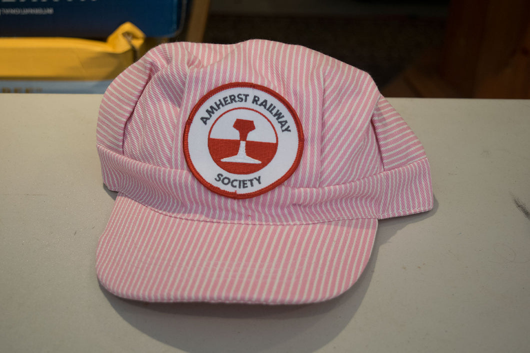 Amherst Railway Society Adult Female Conductor Hat - Pink