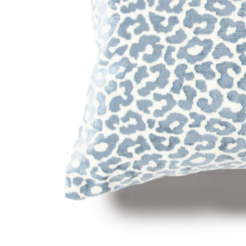 Velvet Blue Leopard Cover