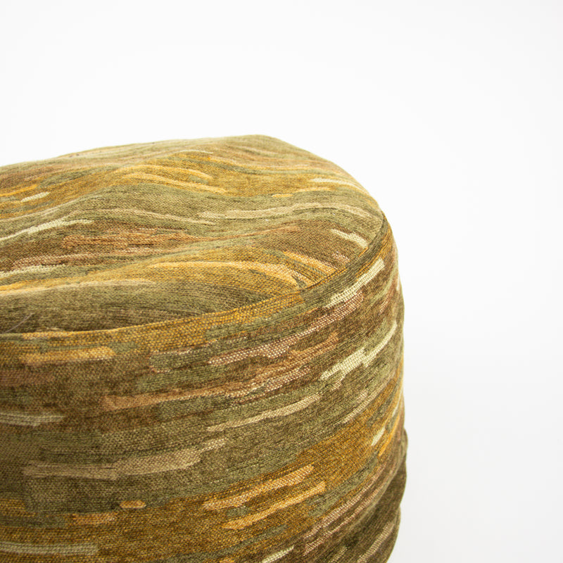 Abstract Camo Pouf