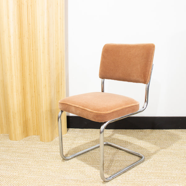 Cantilever Mohair Chair