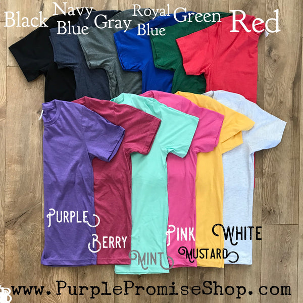 Group Buy -  any 5 shirts including *Custom* (& free shipping!) only $23.99 EACH!!