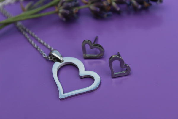 Love someone SET necklace and earrings