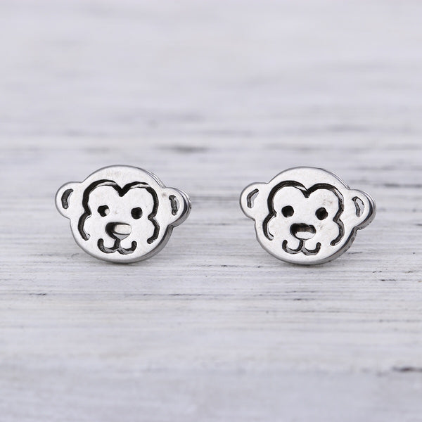Monkeying around earrings