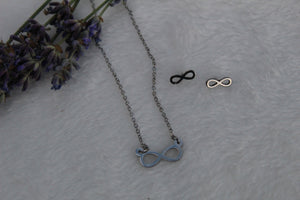 Infinitely yours SET necklace and earrings