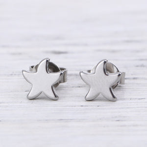 STAR Stainless Steel Earrings