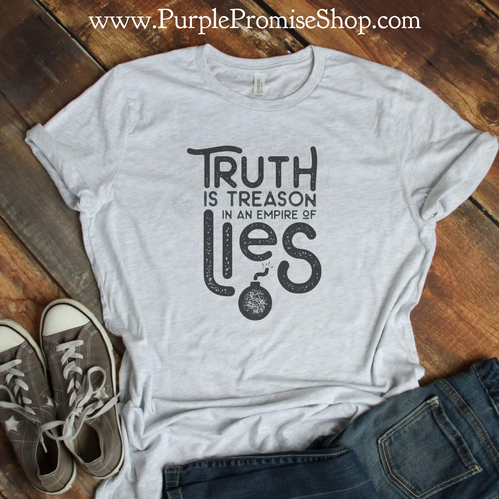 Truth is treason in an empire of lies - {ink}