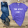 Choose your own phrase - we offer free design services on *Custom* shirts - email Support@PurplePromiseShop.com