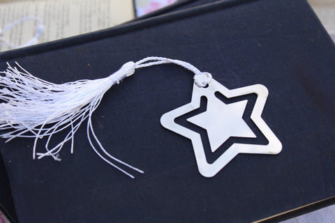 Bookmark STAR Stainless Steel