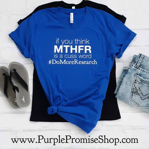 If you think MTHFR is a cuss word #DoMoreReseach -Vneck