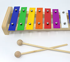 Magpie's Office Kids Wooden Musical Instrument Set