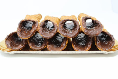 Large Chocolate Glazed Shells - 12 Ct.