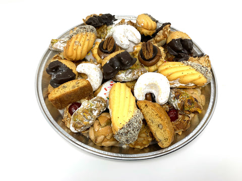The Nutty Baker Cookie Tray - 1 Lb.