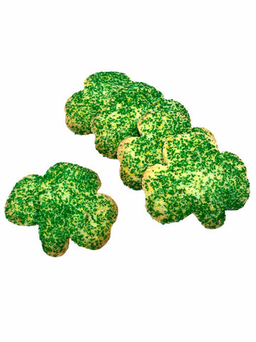 St. Patrick's Day Shamrock Sugar Cookies