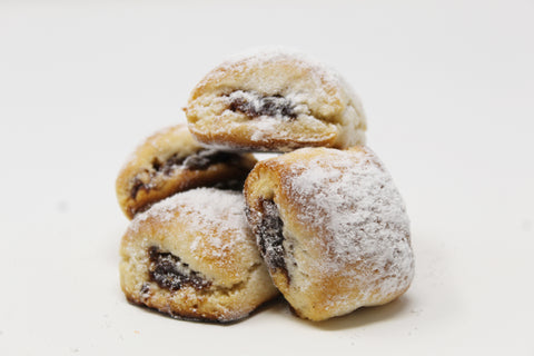 Powdered Sugar Cuccidati (Fig Cookie)