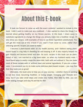 "Load image into Gallery viewer, Megan's E-book: ""Healthy Eating"" Fit and Fab for life - BAZZAAL"