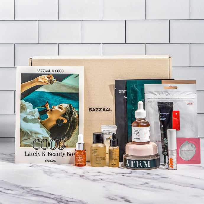 Lately K-beauty box by @rilacoco - BAZZAAL