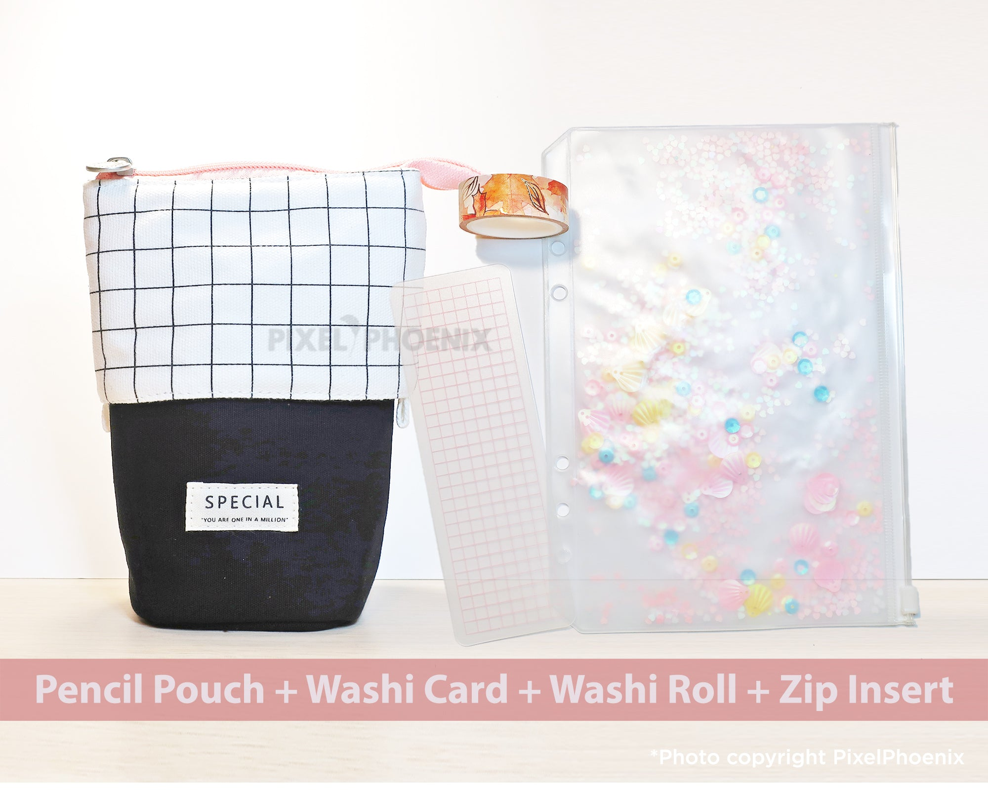 Pencil Pouch Planner Package
