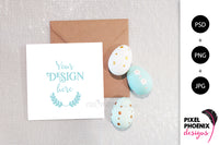 Easter Card Mockup Bundle - 8 items.