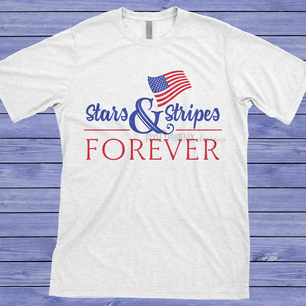 Stars and Stripes Forever, 4th of July svg, USA SVG, Thanksgiving SVG, Memorial Day, Labor Day, Independence Day, Patriot svg, usa svg