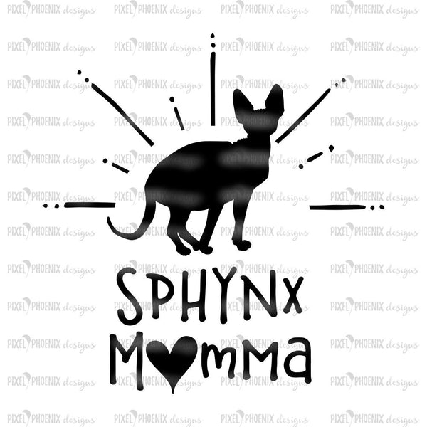 Sphynx Momma, Cat Mom SVG, Fur Mom SVG, Cat lover svg, cute cat svg, cat lover gift, svg for Cricut, Quote Cut File, cat lover, cat cut file