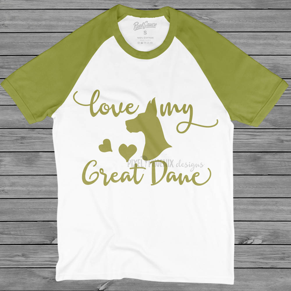 Love My Great Dane, Great Dane dog SVG, Great Dane SVG, Guard Dog svg, dog lover svg, svg for Cricut, vinyl template, instant download