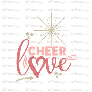 Cheer Love SVG, Cheer Squad SVG, Cheerleader SVG, Cheer svg, Cheer cut file, Cheer mom svg, Cheerleading svg, Cheer design, Cheerlife