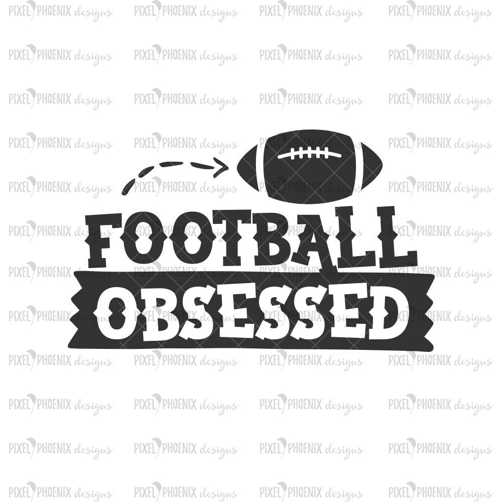 Football Obsessed SVG, Football SVG, Football Baby, baby boy gift, coming home outfit, baby shower gift, American Football, Football season