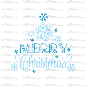 Merry Christmas SVG, Snowflake svg, Cold Christmas, Christmas cut file, svg cut file, svg file for cricut, svg file silhouette