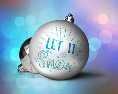 Let it snow SVG, Let it snow cut file, 2018 Christmas SVG, Christmas cut file, svg cut file, svg file for cricut, svg file silhouette