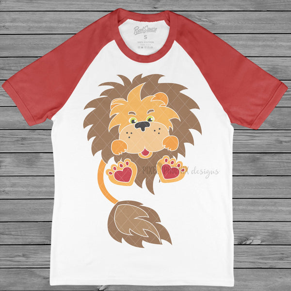 Love Lion SVG, Valentines Lion SVG, Lion Mascot, Valentine SVG, Valentine's Day svg, Valentines Day svg, Valentines cut files