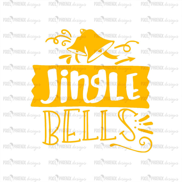 Jingle Bells SVG, Christmas SVG, Bell svg, Christmas cut file, decorative svg, Xmas svg, svg cut file, cricut, silhouette