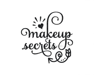 Makeup Secrets SVG, Beauty SVG, Cut file for makeup artists, salon owners, stylists, or anyone in the fashion industry.