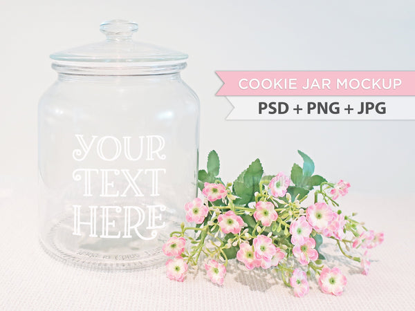 Cookie jar mockup, farmhouse mockup, kitchen mockup, styled mockup, social media content digital mockup, product photo feminine mockup, best