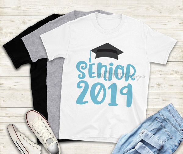 Senior 2019 SVG, graduation cap, graduation design, grad design, grad script, graduation svg, graduation cut file, graduation transfer