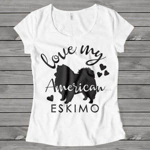 Love My American Eskimo, American Eskimo SVG, Dog mom SVG, dog lover svg, dog svg files cricut, dog svg file, dog svg image, digital file