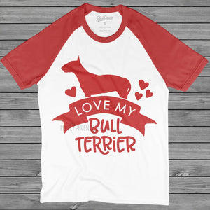 Love my Bull Terrier, English Bull Terrier, Bully SVG file, Dog mom SVG, dog lover svg, dog svg files cricut, dog svg file, dog svg image