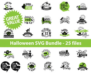 Halloween Bundle SVG files, SVG Bundle Halloween