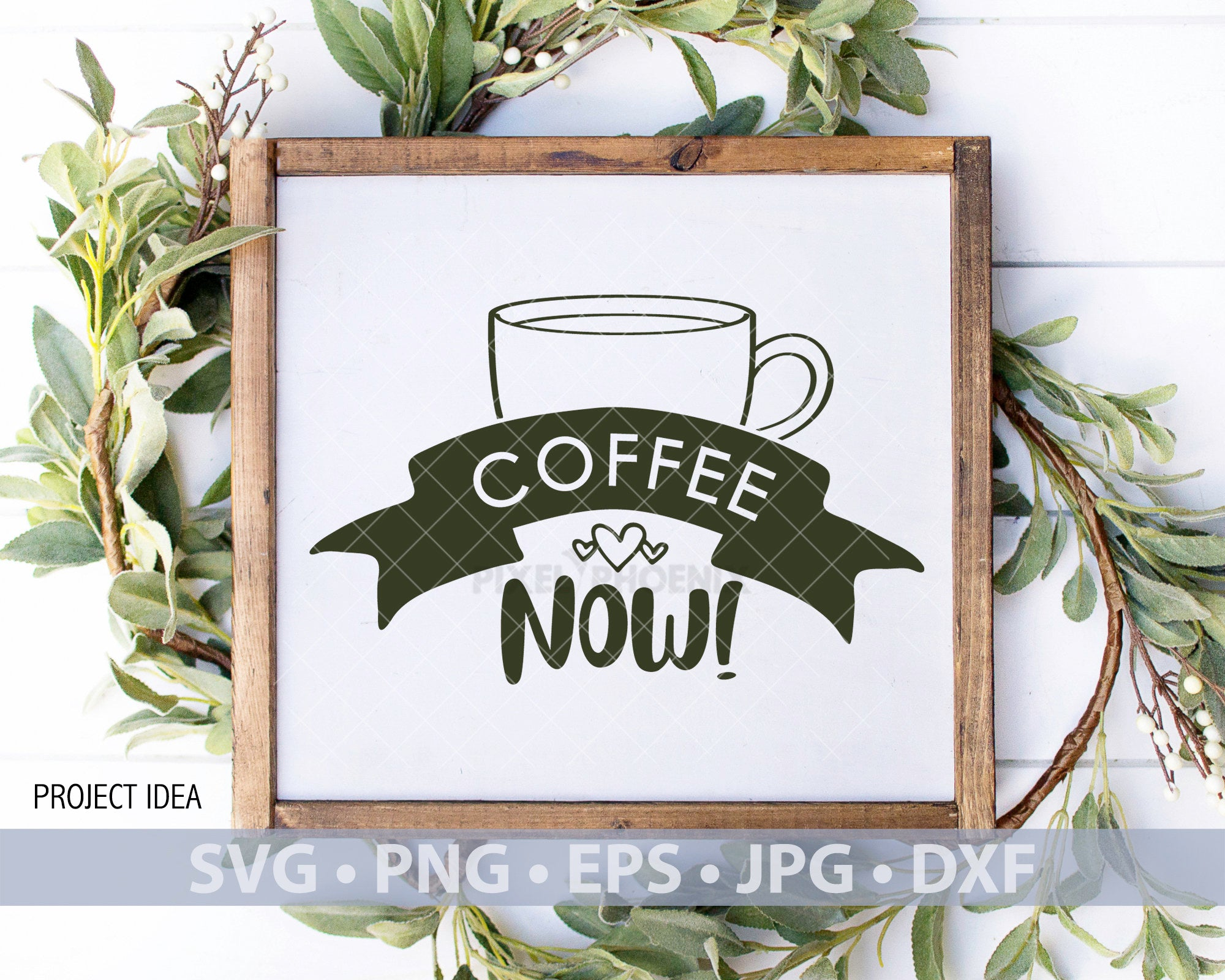 Coffee Now svg, Coffee SVG file