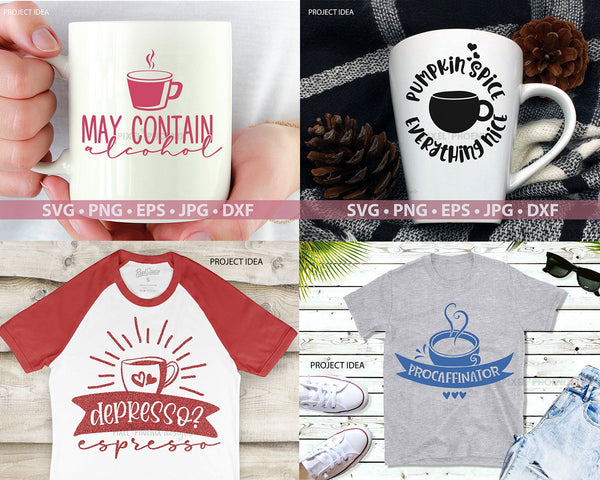 Coffee Bundle SVG files, Coffee SVG