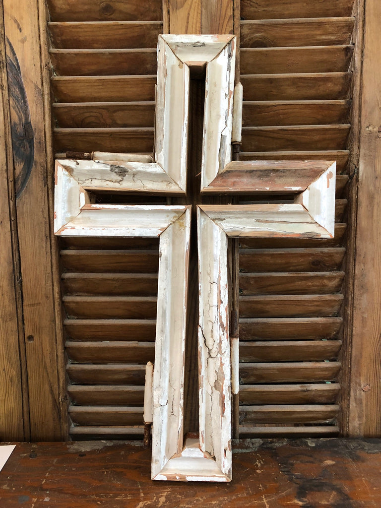 Antique French Molding Cross-SM