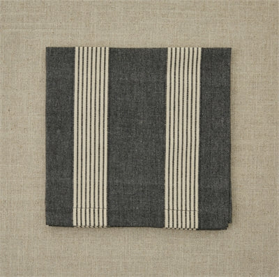 Graphite Stripe Napkin