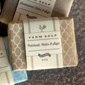 Patchouli, Cedar & Sage Farm Soap