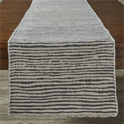 Stripe Print Table Runner
